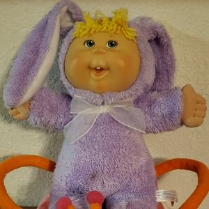 Vintage 2006 cabbage patch doll and ladybug basket sold as a set